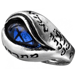 Angels Eye Ring Pewter Aclhemy R124