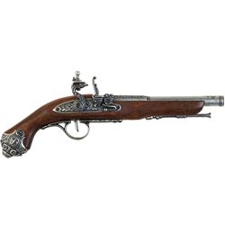 18th Cen. Colonial French Flintlock Pistol Gray - Non-Firing,18th Century French Flintlock Pistol Gray - Non-Firing FD1077G
