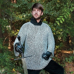 Riveted Aluminum Chainmail Armor Shirt
