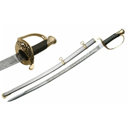 Civil War 1850 Army Staff Officer Sword