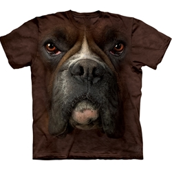 Boxer Face Adult Plus Size T-Shirt 43-1032570