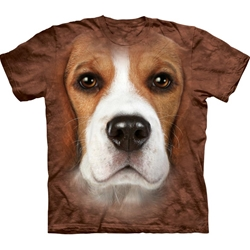 Beagle Face Adult Plus Size T-Shirt 43-1033300