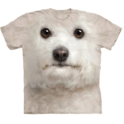 Bichon Frise Face Adult Plus Size T-Shirt 43-1035190