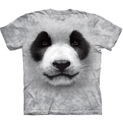 Big Face Panda Adult Plus Size T-Shirt 43-1035580