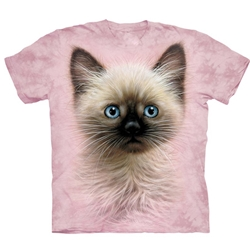 Black and Tan Kitten Adult Plus Size T-Shirt 43-1534640
