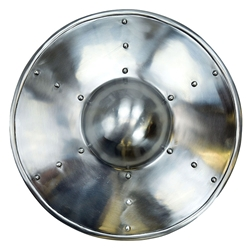Buckler Shield with Steel Rivets 2mm Steel