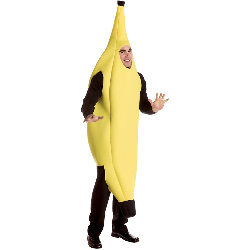Banana Deluxe Adult Costume 100-115378