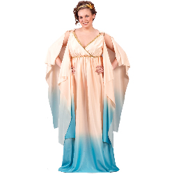 Atlantis Goddess Adult Plus Costume 100-138065