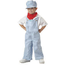 Amtrak Train Engineer Toddler Costume 100-145813