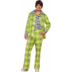 70s Plaid Leisure Suit Adult Costume 100-195664